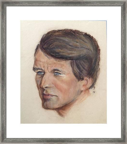 Robert Kennedy Framed Print