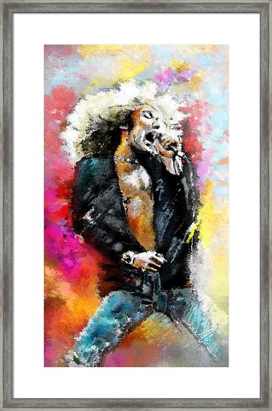 Robert Plant 03 Framed Print