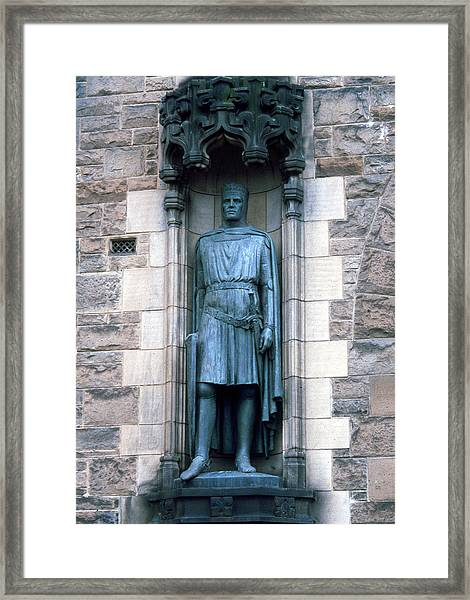 Robert The Bruce Framed Print