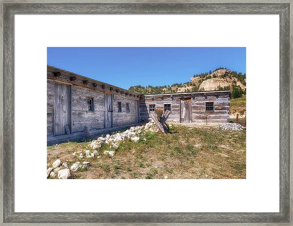 Robidoux Trading Post Framed Print