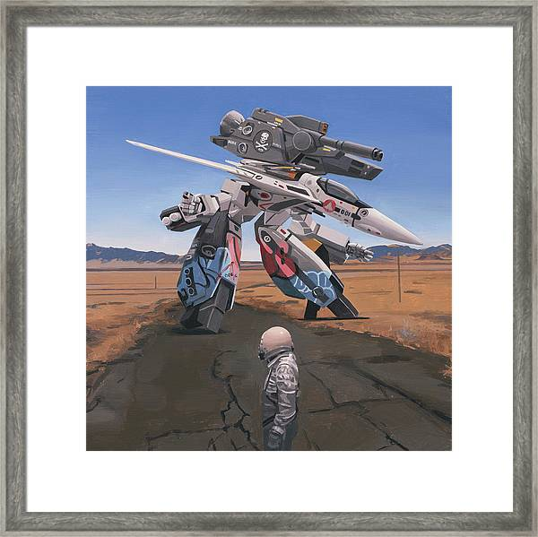 Robotech Framed Print