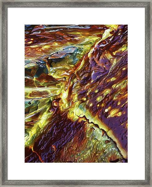 Rock Art 28 Framed Print