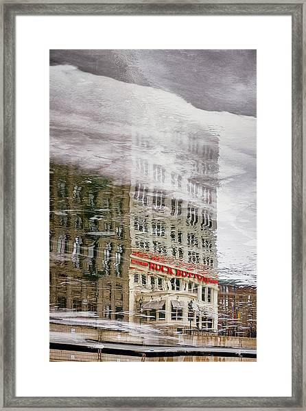 Rock Bottom Framed Print
