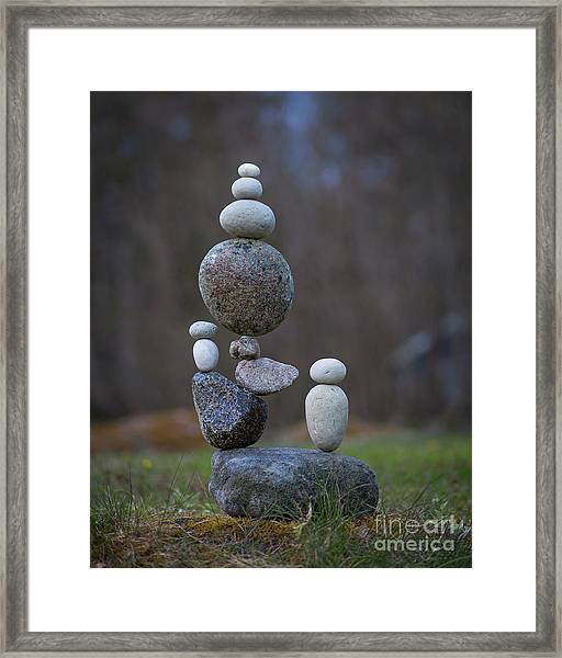 Rock Castle Framed Print