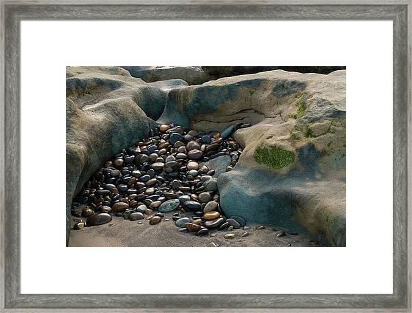 Rock Cradle Framed Print