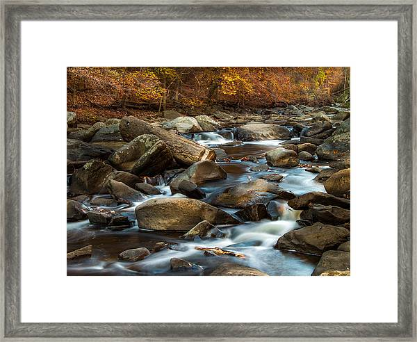 Rock Creek Framed Print