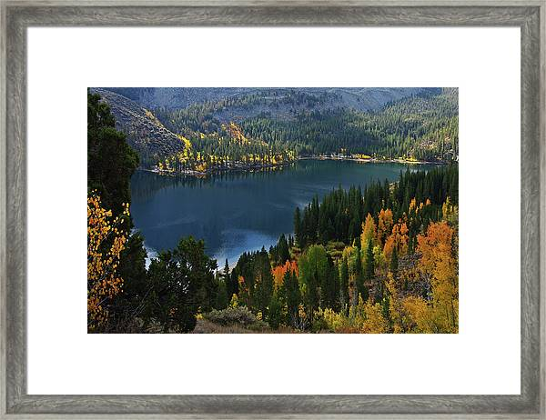 Rock Creek Lake Eastern Sierra Framed Print