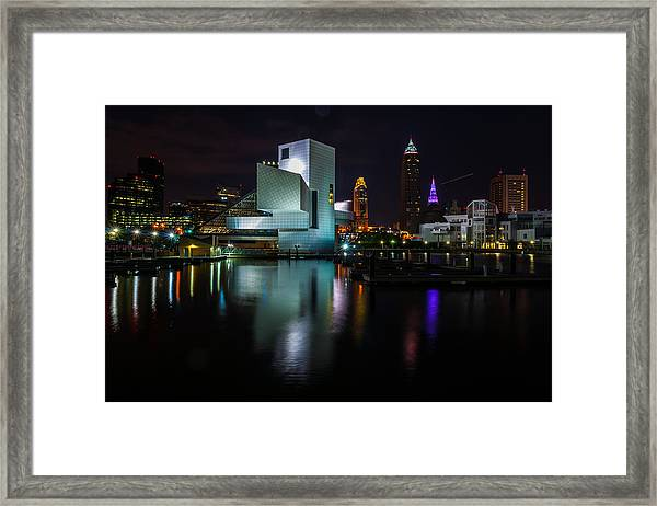 Rock Hall Reflections Framed Print