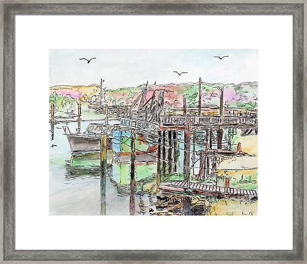 Rock Harbor, Cape Cod, Massachusetts Framed Print