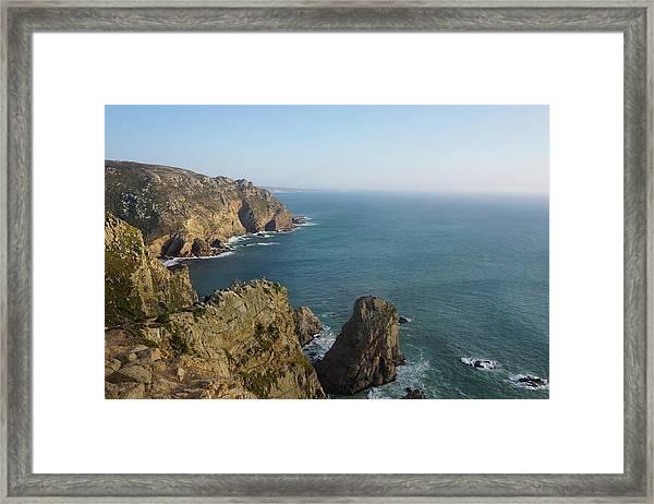 Rocks Near To Cabo Da Roca Framed Print