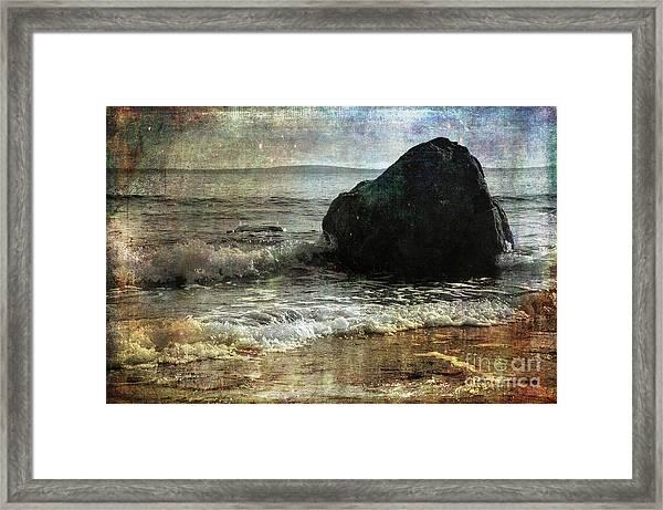 Rock Steady Framed Print