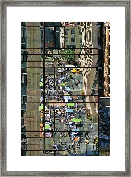 Rock Street Fair Framed Print
