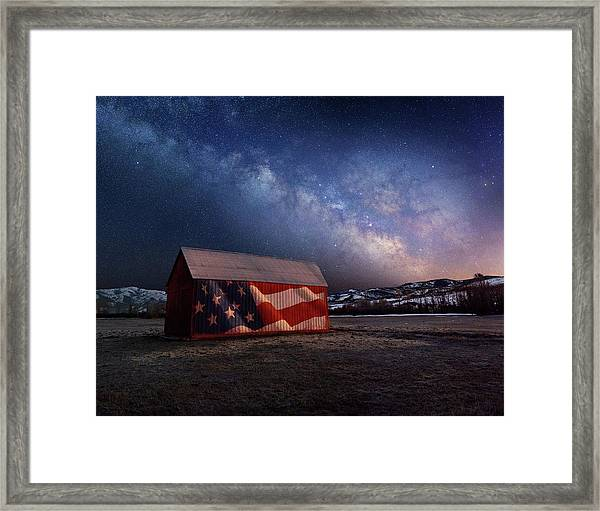 Proof Through The Night Framed Print