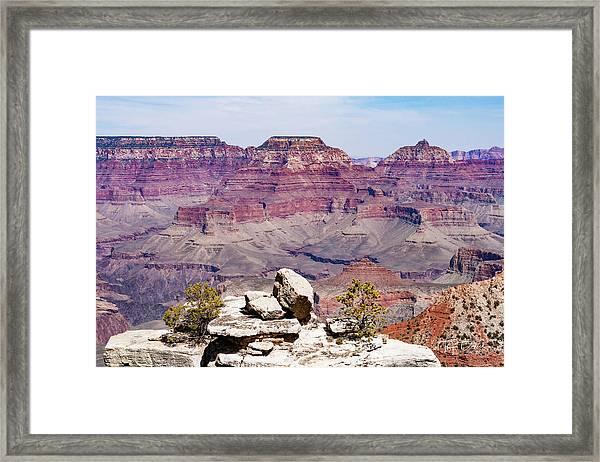 Rockin' Canyon Framed Print