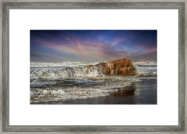 Rockin' The Coast Framed Print