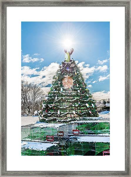 Rockland Trap Tree Framed Print