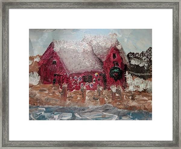 Rockport Christmas 1 Framed Print