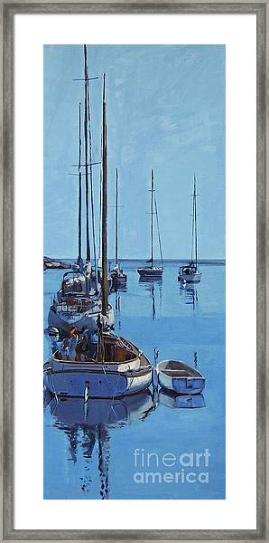 Rockport Blues Framed Print