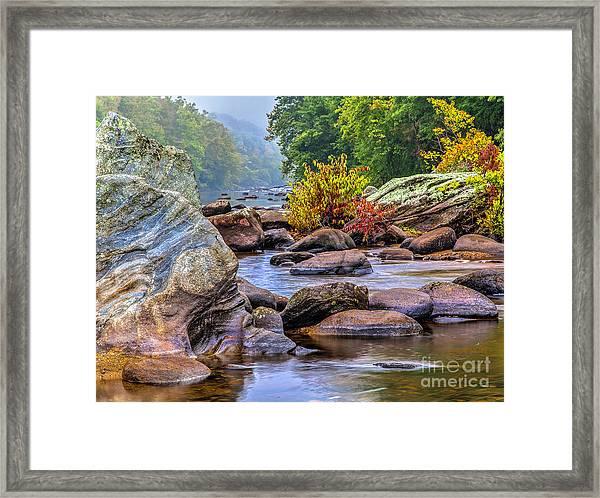 Rockscape Framed Print