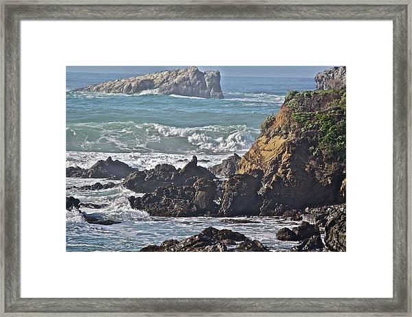 Rocky Coast Framed Print