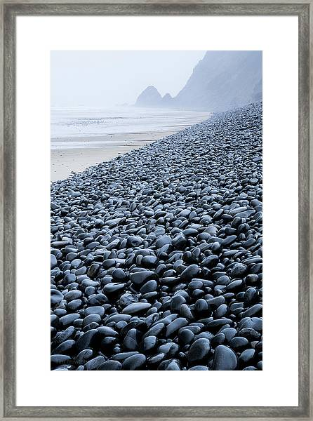 Rocky Falcon Cove Framed Print