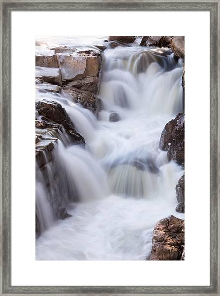 Rocky Gorge Falls Framed Print