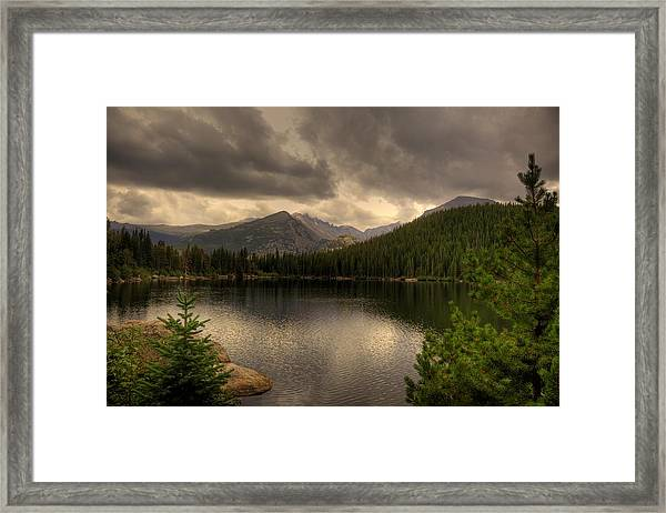 Rocky Mountain National Park Lake Framed Print by Patrick  Flynn