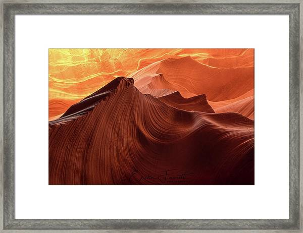 Rocky Mountain Sunrise Framed Print