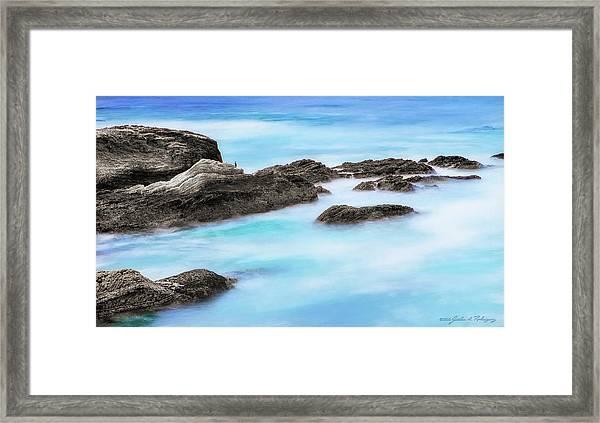 Rocky Ocean Framed Print