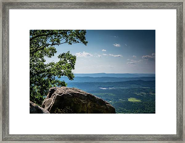 Rocky Perch Framed Print
