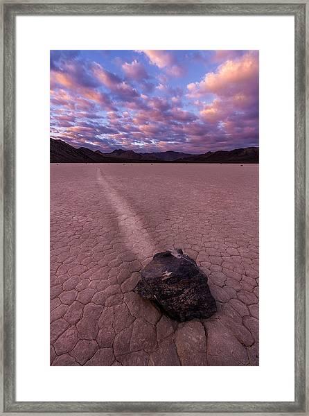 Rocky Scales Framed Print