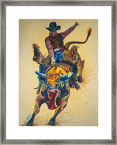 Rodeo Wild Framed Print