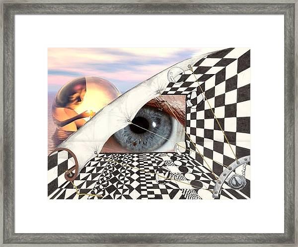 Roll Back Framed Print