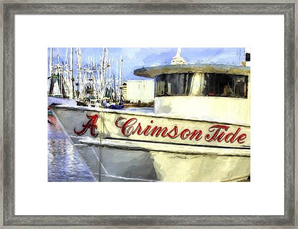 Roll Tide Roll Framed Print