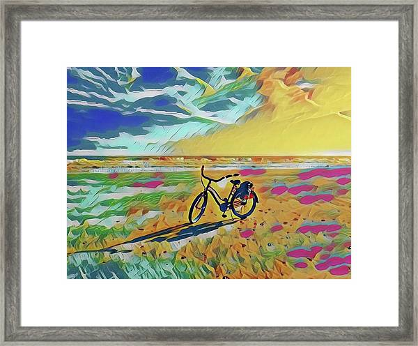 Rollin' Away Framed Print