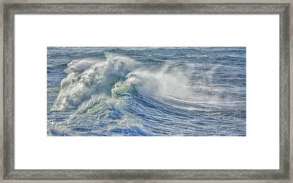 Rollin In Framed Print
