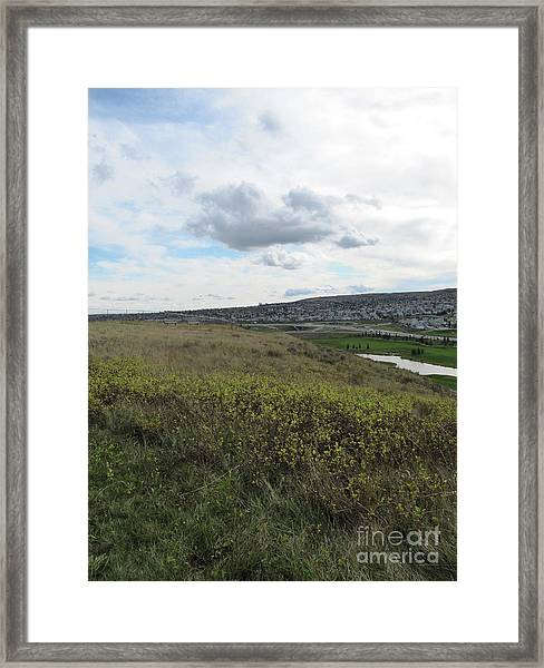 Rolling Hill Framed Print