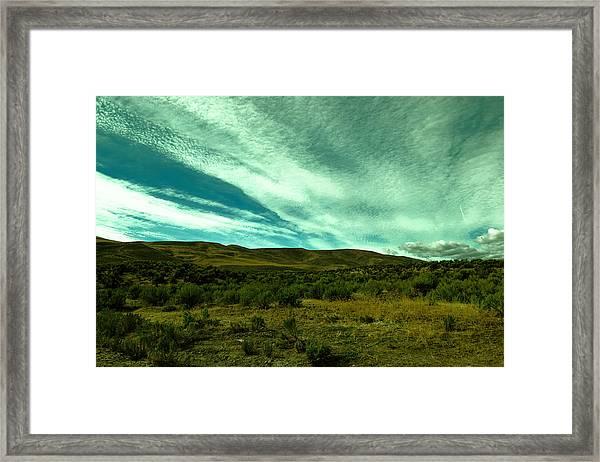 Rolling Hills Framed Print