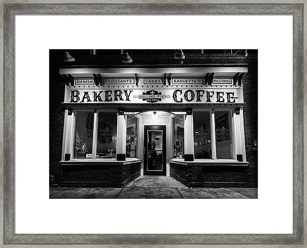 Rolling Pin Framed Print