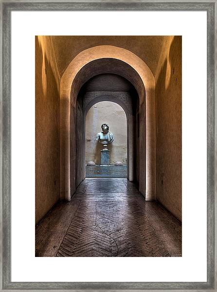 Roman Entry Framed Print
