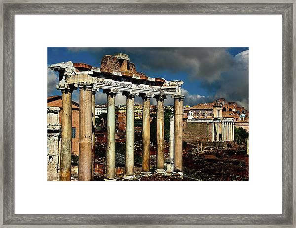 Roman Forum Framed Print