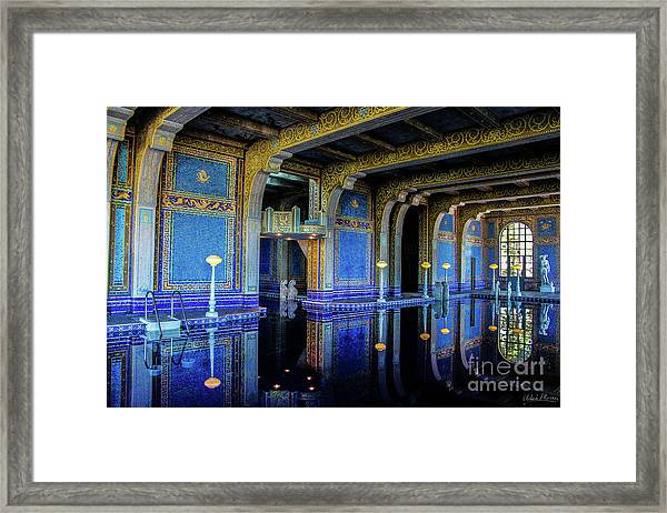 Roman Pool Framed Print