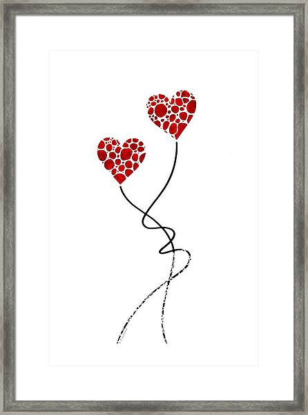 Romantic Art - You Are The One - Sharon Cummings Framed Print