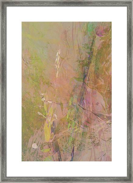 Romantic Rainbow Framed Print