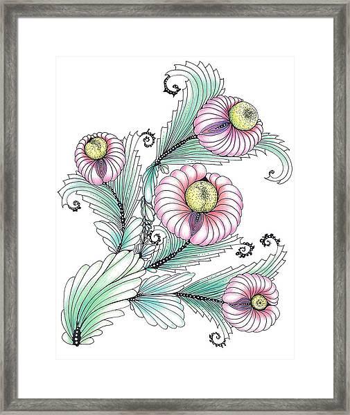 Romashki Framed Print