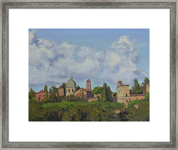 Rome Afternoon Framed Print