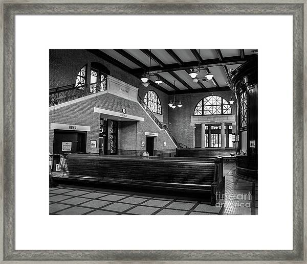Rome Train Station Framed Print
