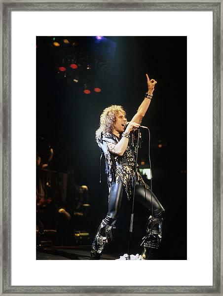 Ronnie James Dio Framed Print