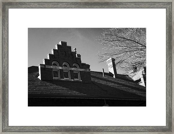 Roofline Framed Print