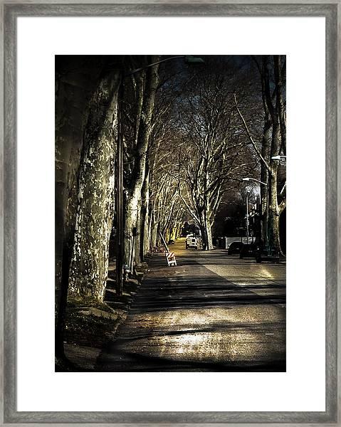 Roosevelt Avenue II Framed Print